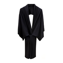 Kimono, Black, for Ladies