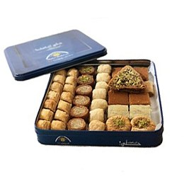 Baklava Mixed TIN Gift Box (Oriental Sweets)