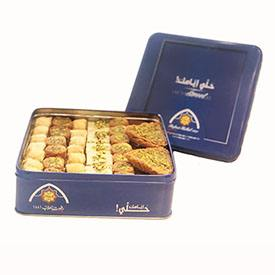 Baklawa Mixed Pistachios TIN Gift Box (Oriental Sweets)