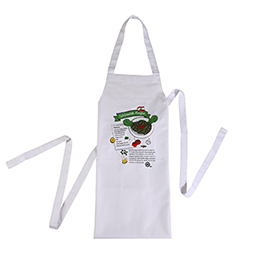 Apron: Tabbouleh Recipe, White