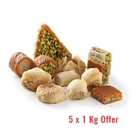 Baklava Mixed (5 Kgs Special Offer)
