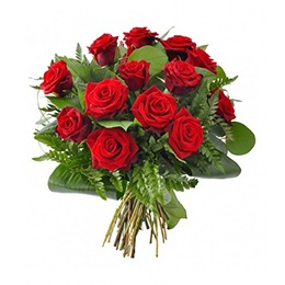 Flowers: 12 Red Roses (Classic Symbol of Love)