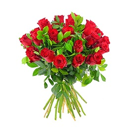 Flowers: 24 Red Roses (Double your Love)