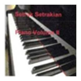 CD Setrak Setrakian: Piano Volumes I and II