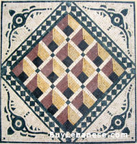 Marble Mosaic Geometric Design (MG 012)