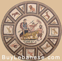 Marble Mosaic Medallions Design (MM 108)