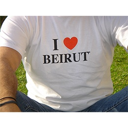 T-shirt (I Love Beirut) size XL