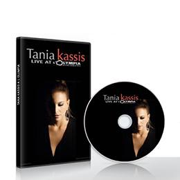 CD & DVD: Tania Kassis Live at L Olympia (PAL)
