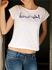 T-shirt (Bonsoir Ya Helo) for Women