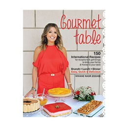 Book: Gourmet Table by Viviane Nasr Zoghbi