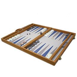 Tawle (Backgammon Pro Leather and Wood), Game